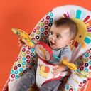 "Шезлонг Bright Starts ""Playful Pinwheels"", арт. 60135 (фото4)"