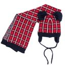 Комплект Chicco Calvin: шапка и шарф , арт. 090.04569.088, цвет Красный