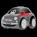 "Машинка инерционная Chicco ""Fiat 500, Turbo Touch"", арт. 07331, цвет Серый (фото2)"