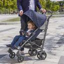 Прогулочная коляска Chicco Lite Way 3 Top Special Edition Intrigue, арт. 79599.03, цвет Серый (фото9)