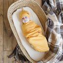 Комплект MagBaby Bear: евро-пеленка и шапка, арт. 106458, цвет Горчичный (фото2)