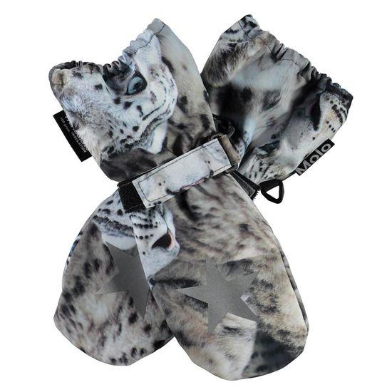 Термоварежки Molo Igor Snowy Leopards, арт. 7W21S105.6348, цвет Серый