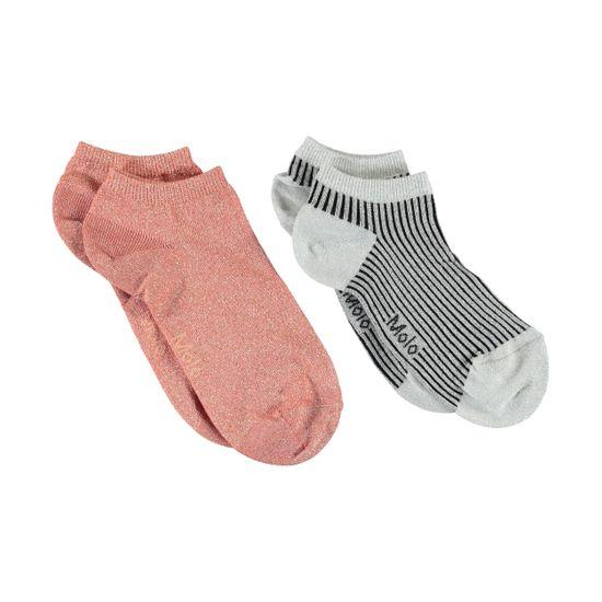 Носки (2 пары) Molo Noja Aloha Peach, арт. 7S20G107.8164, цвет Розовый