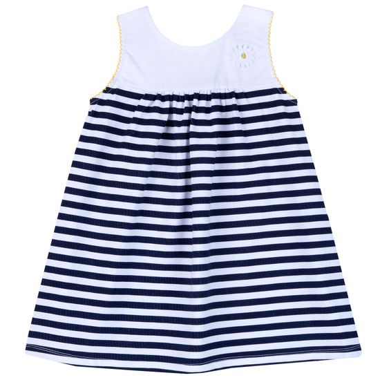 Платье Chicco Lucky girl, арт. 090.03948.080, цвет Синий