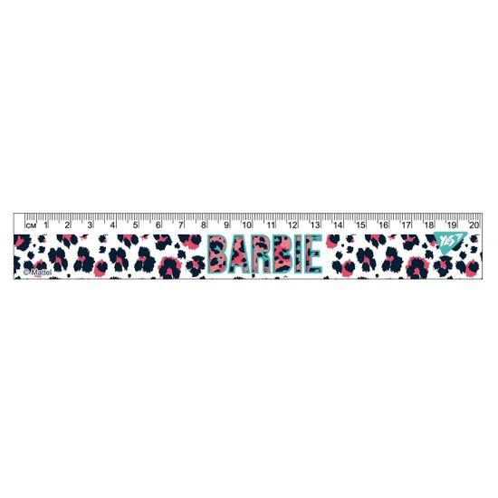 "Линейка YES ""Barbie"", 20 см, арт. 370568"