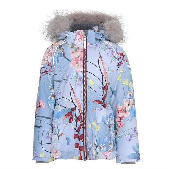 Термокуртка Molo Cathy Fur Ikebana, арт. 5W20M302.6131, цвет Голубой