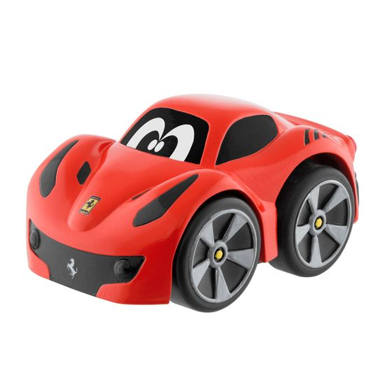 "Машинка инерционная Chicco ""Ferrari F12. Mini Turbo Touch"", арт. 09494.00, цвет Красный"