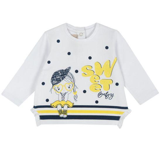 Джемпер Chicco Sweet baby , арт. 090.67078.033, цвет Белый