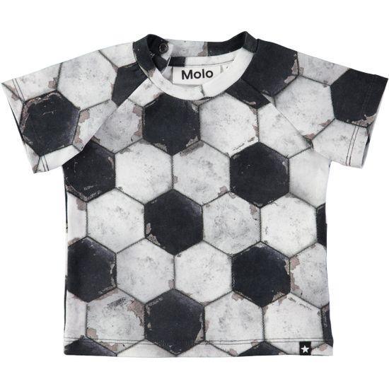 Футболка Molo Emmett Football Structure, арт. 3W18A202.4740, цвет Серый