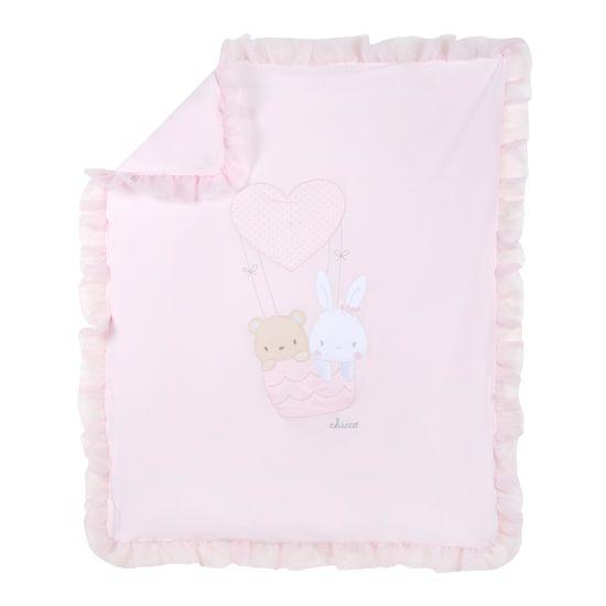 Одеяло Chicco Funny friends, арт. 090.10118.011, цвет Розовый