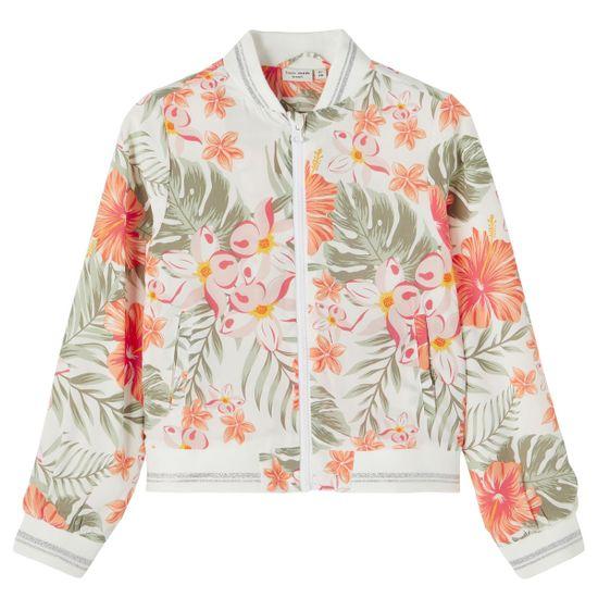 Куртка Name it Bright flowers , арт. 211.13188923.BWHI, цвет Оранжевый