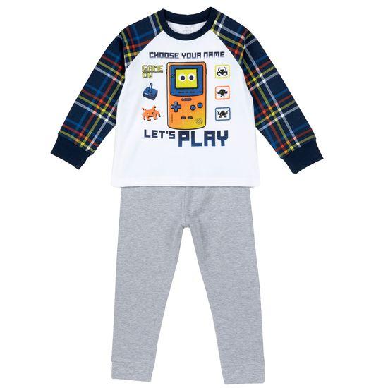 Пижама Chicco Let's Play, арт. 090.31361.030, цвет Синий