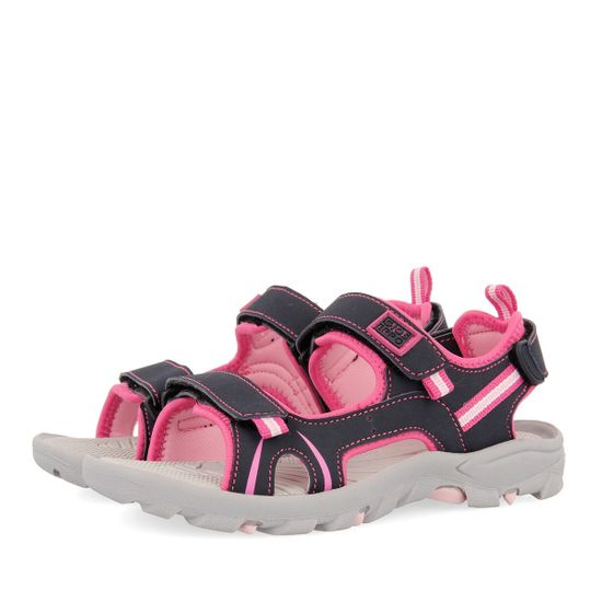 Босоножки Gioseppo Aachen Pink, арт. 211.47440.Pink, цвет Серый с розовым
