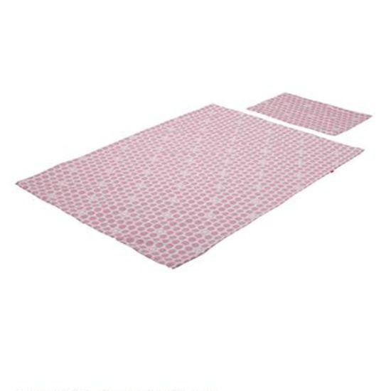 Постельный комплект для кроватки Stokke Sleepi, арт. 1057, цвет Розовый