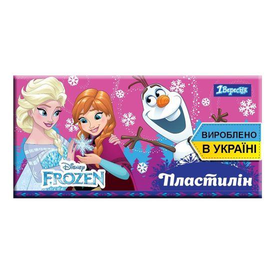 """Пластилин 1Вересня """"Frozen"""", 6 цв., арт. 540551"""