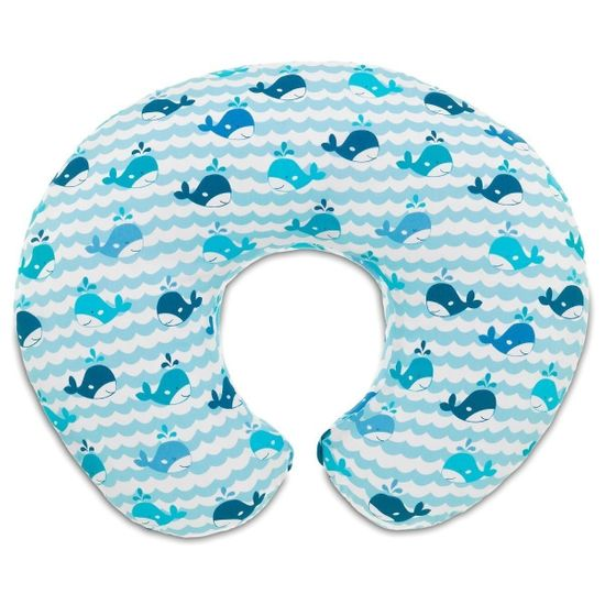 Подушка для кормления Chicco Boppy, арт. 79902, цвет Голубой