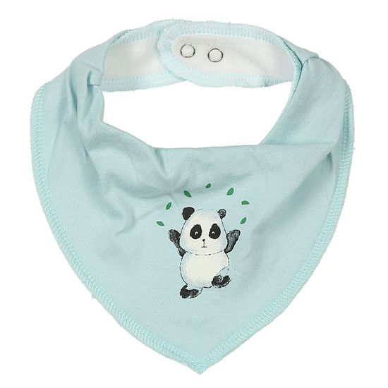 Слюнявчик Name it Dancing panda, арт. 201.13173690.SBLU, цвет Голубой