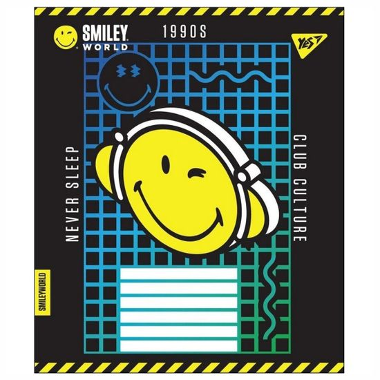 """Тетрадь YES """"Smiley fun times"""", клетка, А5, 24 л., арт. 764704"""