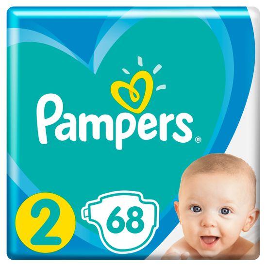 Подгузники Pampers Active Baby, размер 2, 4-8 кг, 68 шт, арт. 8001090949653