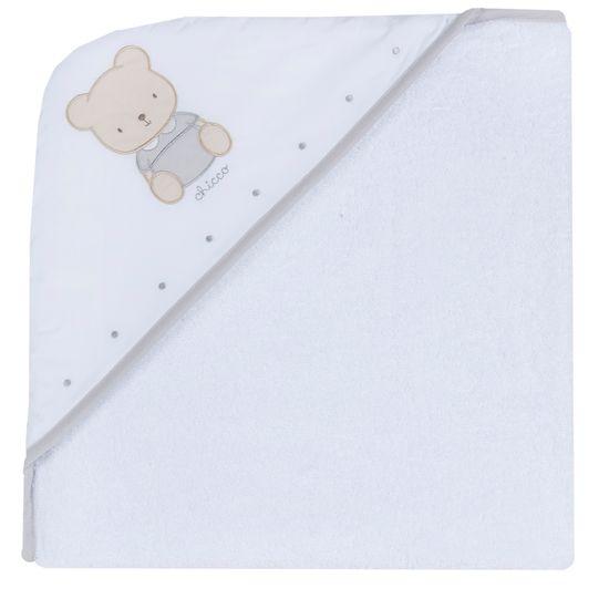 Полотенце Chicco Cute bear, арт. 090.40975.033, цвет Белый