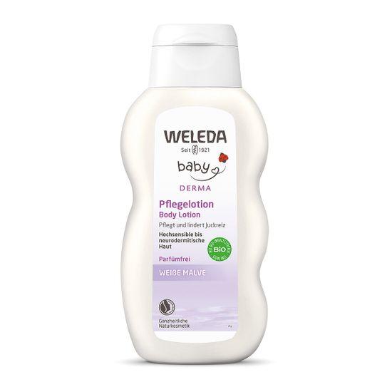 Молочко для тела Weleda с алтеем, для чувствительной кожи, 200 мл, арт. 00753100