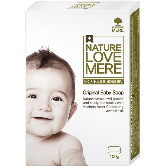 Органическое детское мыло Nature Love Mere, арт. 8809402090914