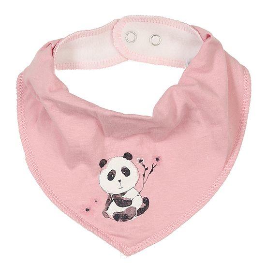Слюнявчик Name it Little panda, арт. 201.13173683.PNEC, цвет Розовый