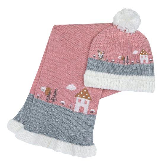 Комплект Chicco Teresa: шапка и шарф, арт. 090.04929.030, цвет Розовый