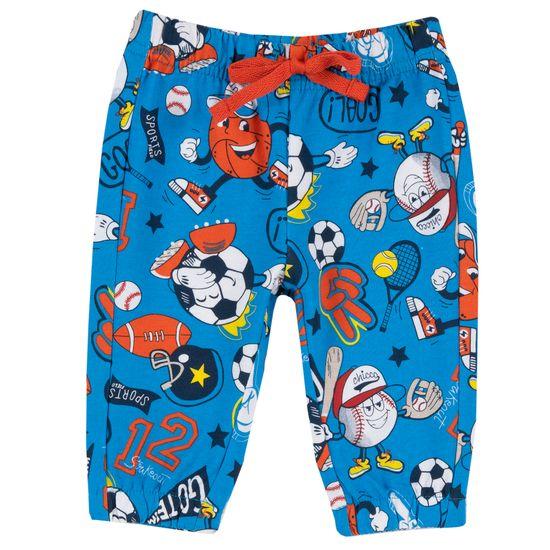 Брюки спортивные Chicco Fun sport, арт. 090.08378.025, цвет Голубой