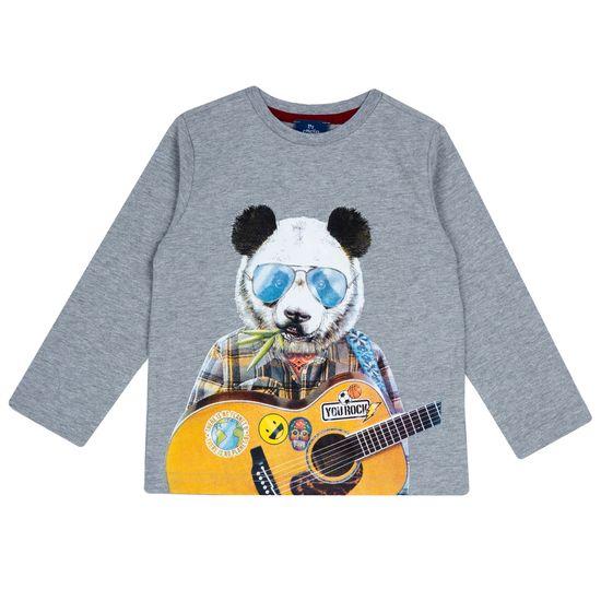 Реглан Chicco Panda Team, арт. 090.67462.095, цвет Серый