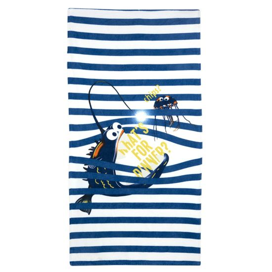 Полотенце Chicco Frederick , арт. 090.40995.081, цвет Голубой