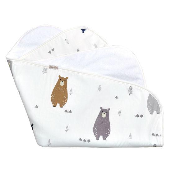 Пеленка непромокаемая MagBaby Bears, арт. 130022, цвет Белый