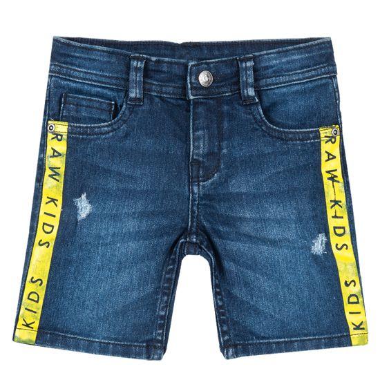 Шорты джинсовые Chicco Paw kids, арт. 090.52900.088, цвет Синий