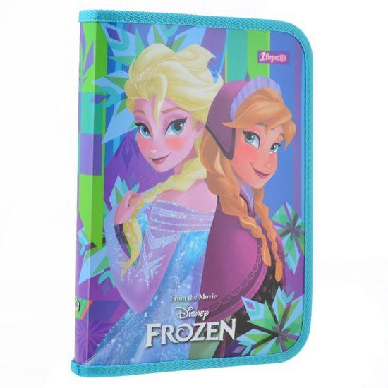 """Папка для тетрадей 1Вересня """"Frozen"""" на молнии, В5, арт. 491580"""