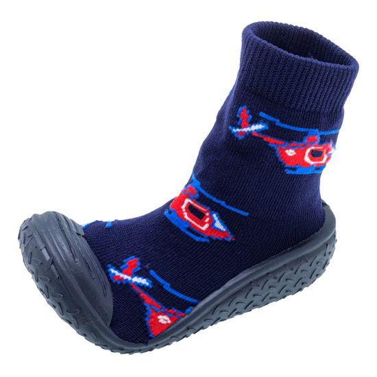 Тапочки-носки Chicco Morbidotti Dark, арт. 011.64721.800, цвет Синий