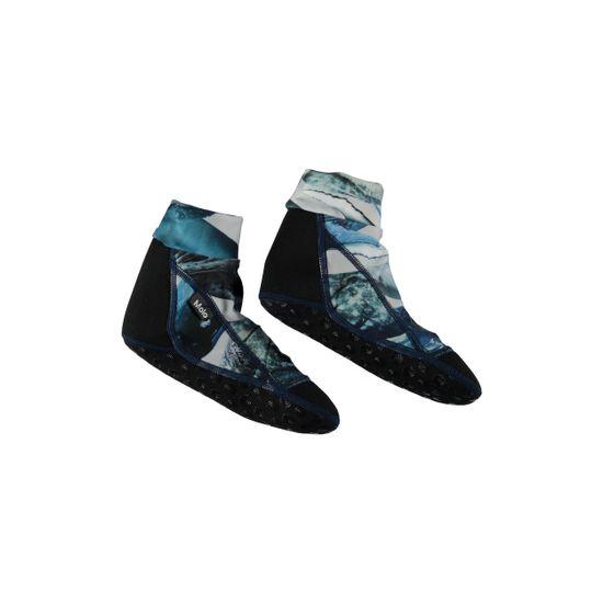 Носки-аквашузы для плавания Molo Zabi Whales, арт. 7S19U201.4783, цвет Синий