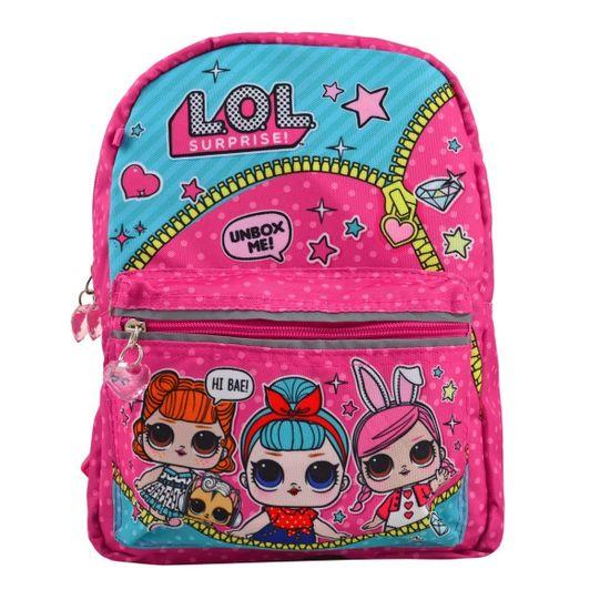 """Рюкзак двухсторонний YES """"LOL Juicy"""", арт. 558096, цвет Розовый"""