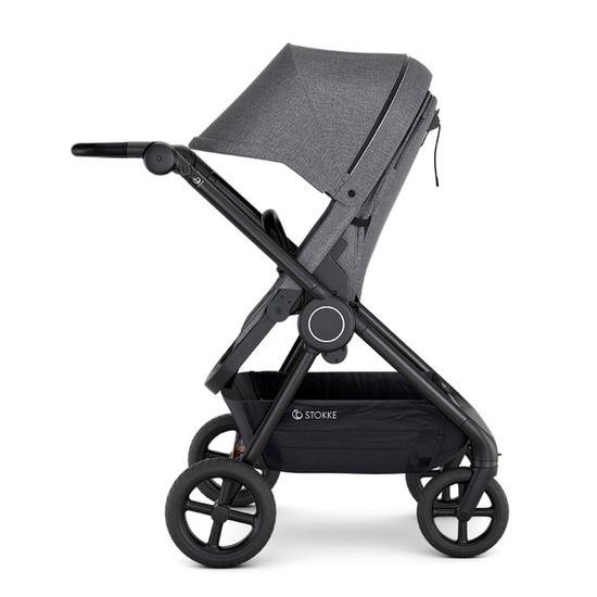 Прогулочная коляска Stokke Beat, арт. 5395, цвет Black Melange