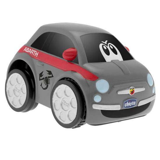 "Машинка инерционная Chicco ""Fiat 500, Turbo Touch"", арт. 07331, цвет Серый"