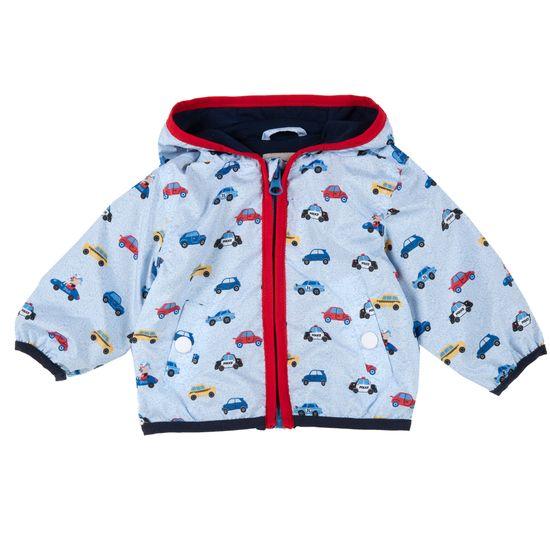Куртка Chicco Funny cars, арт. 090.87550.026, цвет Голубой
