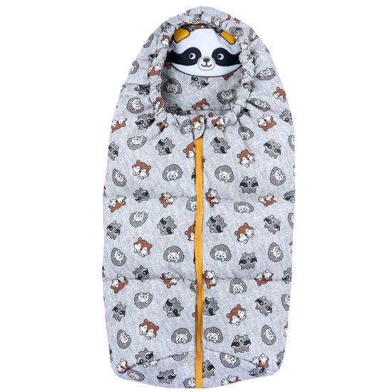 Конверт Chicco Cute raccoon, арт. 090.27074.095, цвет Серый