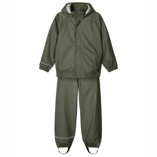 Костюм-дождевик Name it Rainy: куртка и брюки, арт. 211.13177542.THYM, цвет Оливковый