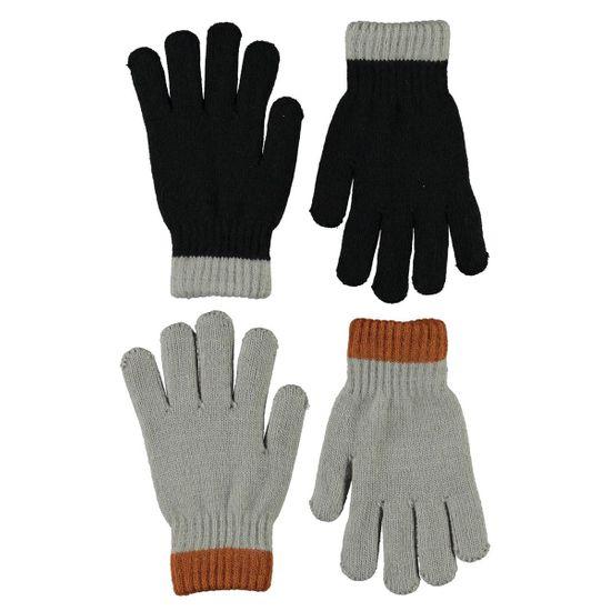 Перчатки (2 пары) Molo Kaapo Black, арт. 7W21S206.0099, цвет Черный