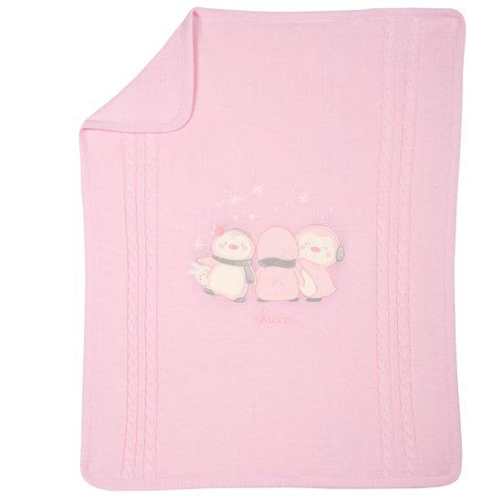 Плед вязаный Chicco Halla, арт. 090.05116.011, цвет Розовый