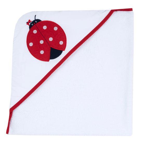 Полотенце Chicco Ladybug , арт. 090.40985.037, цвет Красный
