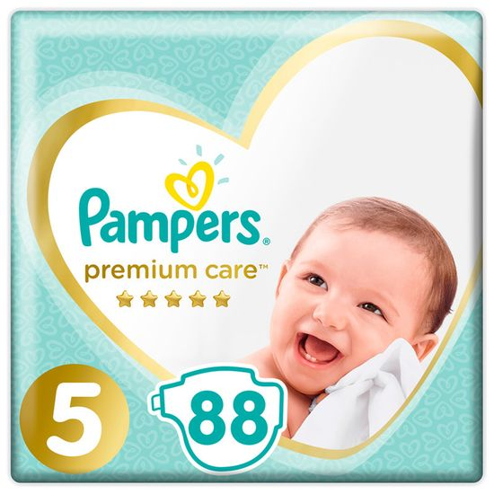 Подгузники Pampers Premium Care, размер 5, 11-16 кг, 88 шт, арт. 4015400541813