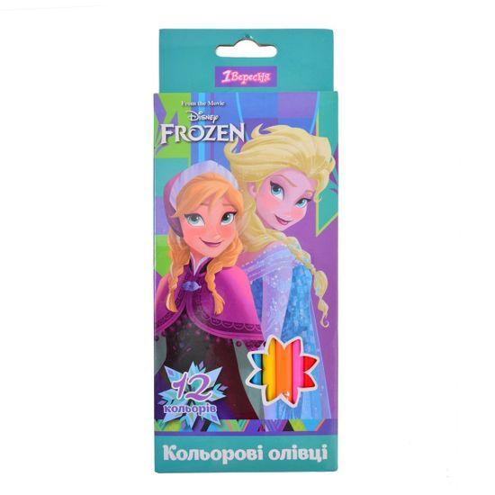 "Карандаши 1Вересня ""Frozen"", 12 цв., арт. 290539"