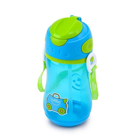 "Бутылочка-непроливайка Trunki ""Blue"", арт. 0294-GB01, цвет Голубой"