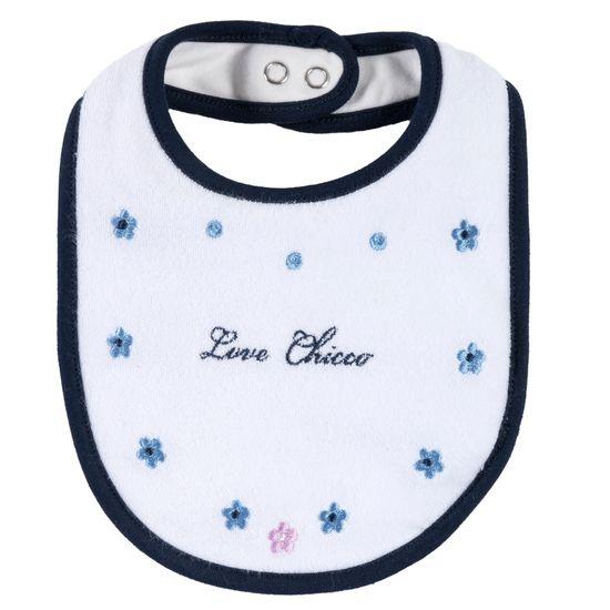 Слюнявчик Chicco Bonnie, арт. 090.32723.030, цвет Белый