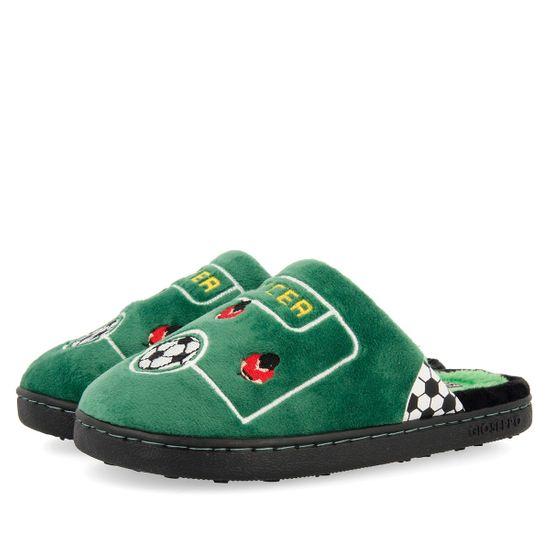 Тапочки Gioseppo Maintal Green, арт. 213.60143.Gree, цвет Зеленый
